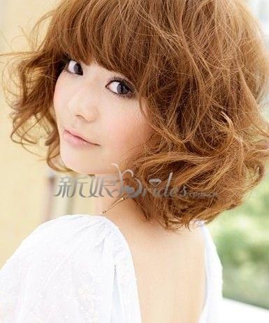3款唯美发型 秋冬新娘也能容光焕发-短发