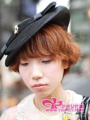 日本街拍个性美妆 引爆秋冬彩妆潮流(组图)-日本街图片