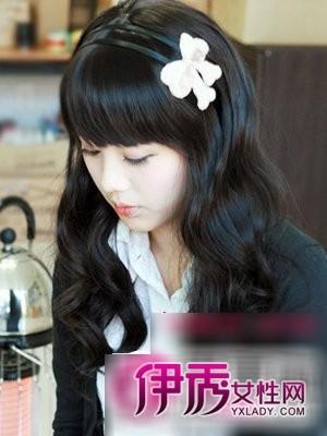 【大卷发型图片】欧美韩式长发大卷发型图片
